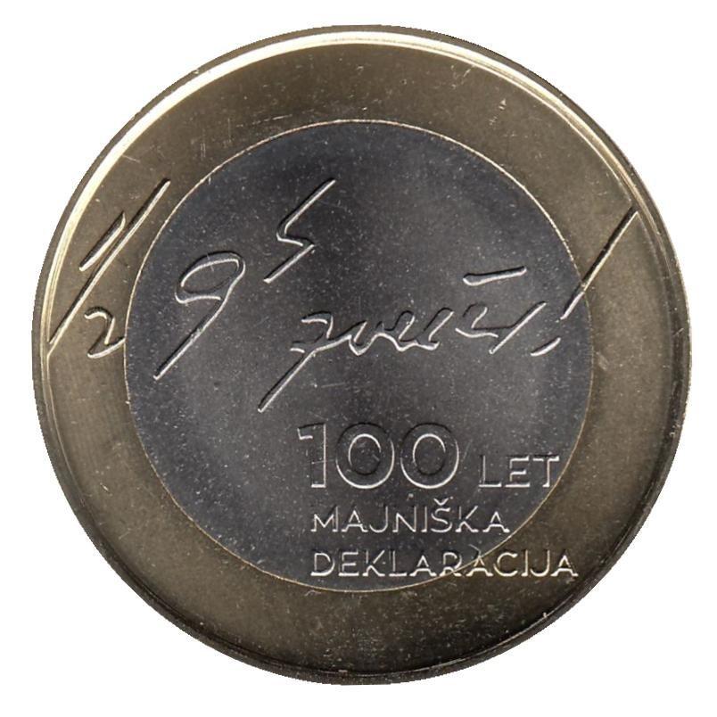3 евро Словения