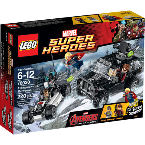 LEGO Super Heroes: Гидра против Мстителей 76030 — Avengers Hydra Showdown — Лего Супергерои Марвел