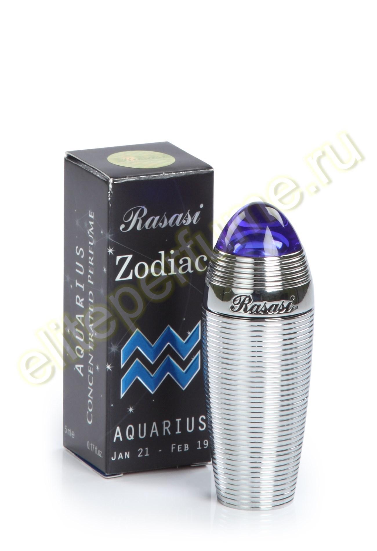 Зодиак Водолей Zodiac Aquarius 5 мл арабские масляные духи от Расаси Rasasi Perfumes
