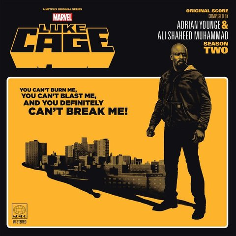 Виниловая пластинка. Marvel's Luke Cage - Season Two - Original Soundtrack 2XLP