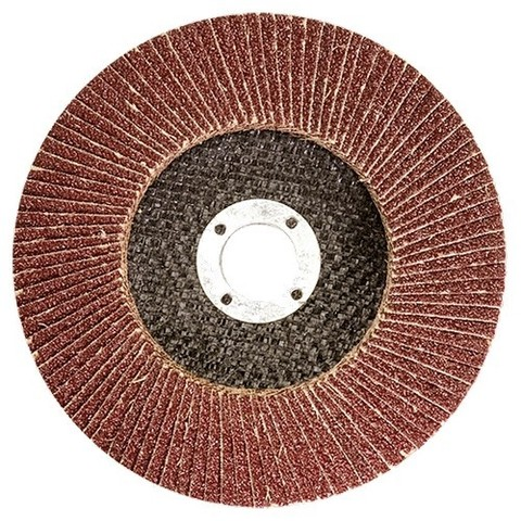 Круг лепестковый торцевой, P 40, 180 х 22,2 мм Matrix