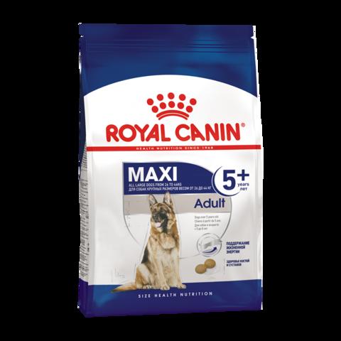 Royal Canin Maxi Adult 5+ Сухой корм для пожилых собак крупных пород 5-8 лет