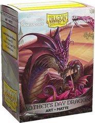 "Dragon Shield - Матовые протекторы ""Mothers Day Dragon - 2020"" (100 штук)"