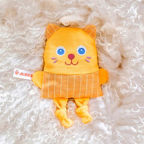Игрушка-грелка Мякиши Крошка Кот