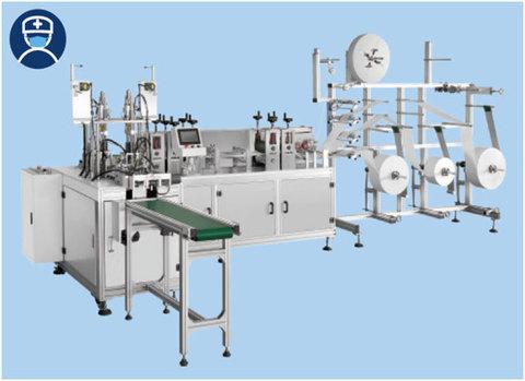 Автоматическая линия по производству масок TS-2D-А1 | Soliy.com.ua