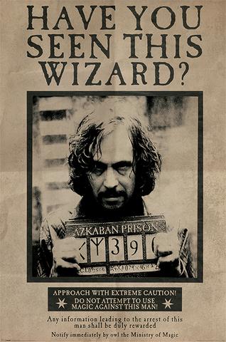 Постер Wanted: Sirius Black PP33681