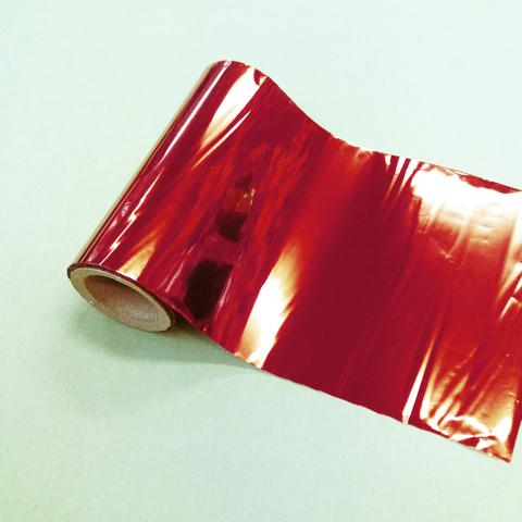 Фольга для золочения,Красная