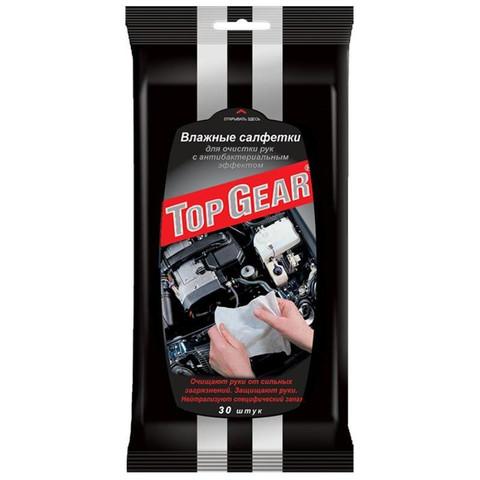 Салфетки влажные для рукTop Gear №30