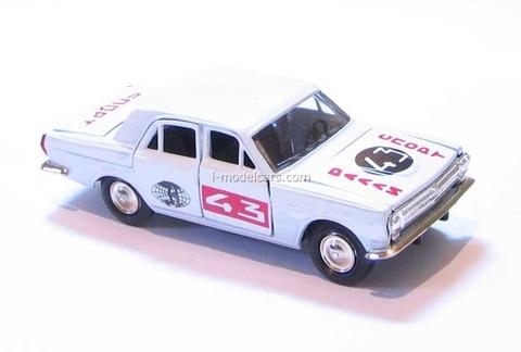GAZ-24 Volga Rally #43 Agat Mossar Tantal 1:43