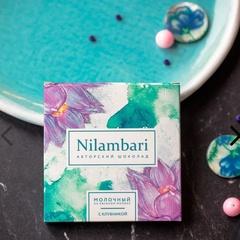 Шоколад Nilambari белый на кешью