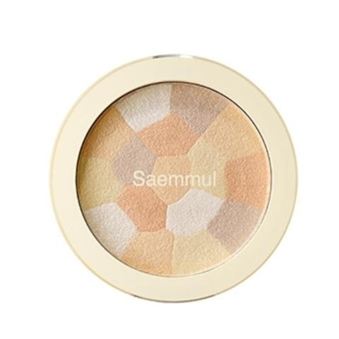 THE SAEM Saemmul L Хайлайтер минеральный 02 Saemmul Luminous Multi Highlighter 02. Gold Beige 8гр