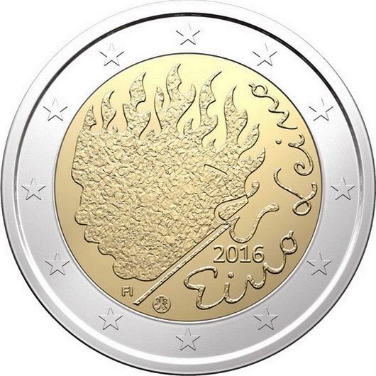 2 евро 2016 Финляндия - Эйно Лейно