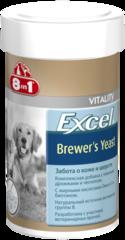 Кормовая добавка 8in1 Excel Brewer's Yeast Эксель Пивные дрожжи для собак и кошек