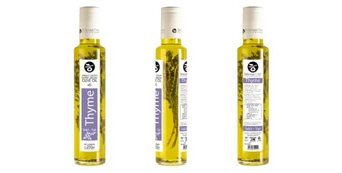 Оливковое масло с тимьяном Delicious Crete 250 мл