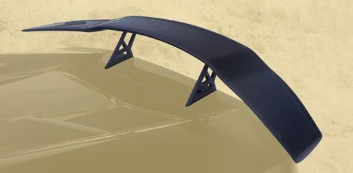Карбоновое антикрыло v1 Mansory Style для Lamborghini Huracan