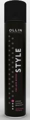 OLLIN STYLE Лак для волос ультрасильной фиксации 500мл/ Hairlac Ultra Strong