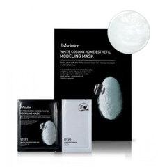 JMsolution White Cocoon Home Esthetic Modeling Mask - Моделирующая маска с протеинами шелкопряда и жемчугом