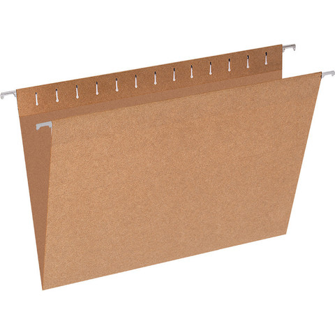 Подвесная папка Attache Economy Foolscap до 80 листов коричневая (10 штук в упаковке)