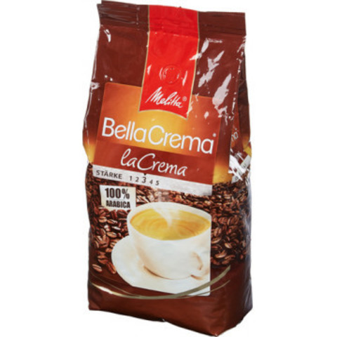 Кофе в зернах Melitta Bella Crema la Crema 100% арабика 1 кг