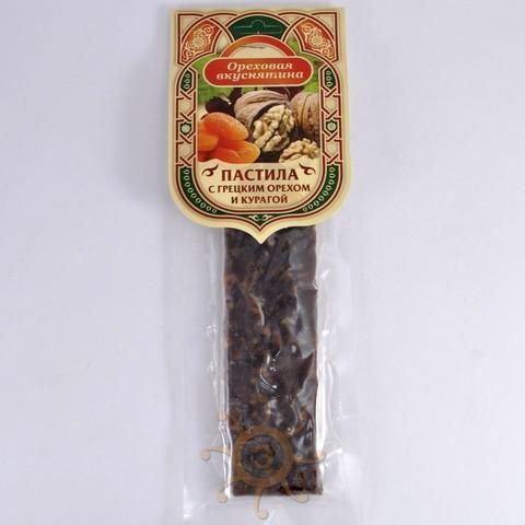 Пастила с грецким орехом и курагой Ореховая вкуснятина, 110г