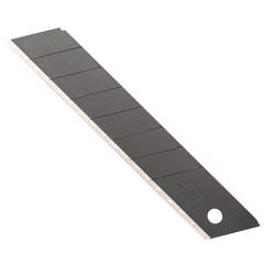 Лезвия сменные для универсальных ножей Olfa Black Max 18 мм сегментированные (10 штук в упаковке)