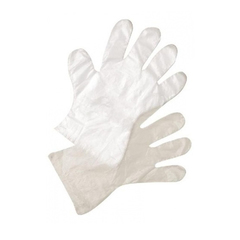 Перчатки полиэтиленовые 1шт (размер M)
