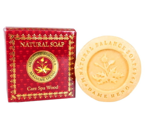 Спа-мыло сандаловое Madame Heng Natural Care Spa Soap Wood, 150 гр