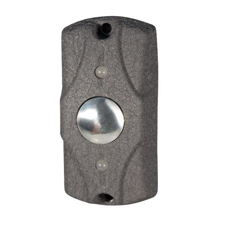 Кнопка выхода Циклоп (Серая кожа)