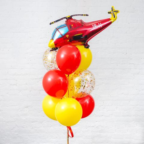 Фонтан из шаров Вертолет