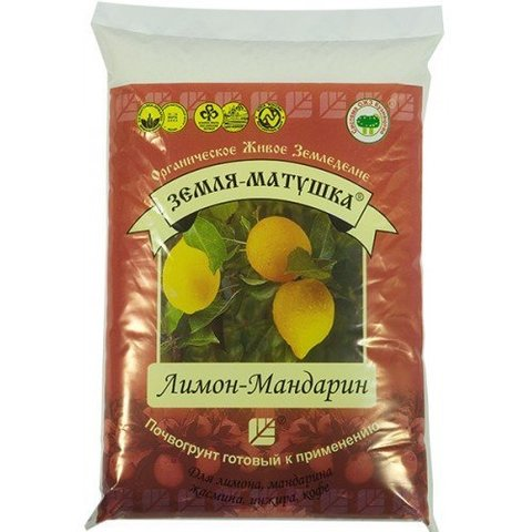 Земля матушка лимон-мандарин 3л