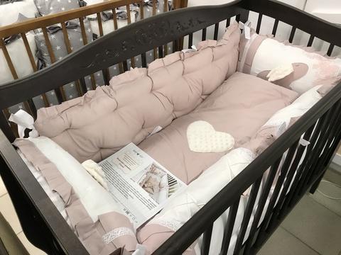Комплект в кроватку Сказка, на 4 стороны кроватки