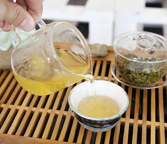 TEA-CH105 Зеленый китайский чай «Облачный Туман» ( Юнь У, 50 гр) фото 12