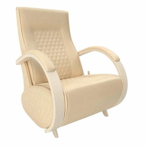 Кресло-глайдер Balance Balance-3 с накладками, дуб шампань/Polaris Beige, 014.003
