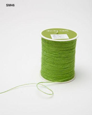 Шпагат джутовый May Arts - ярко-зеленый