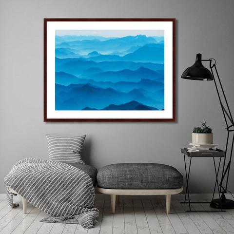 Пол Гилмор - Mountain Silhouettes in the Brandenburg Alps, Austria