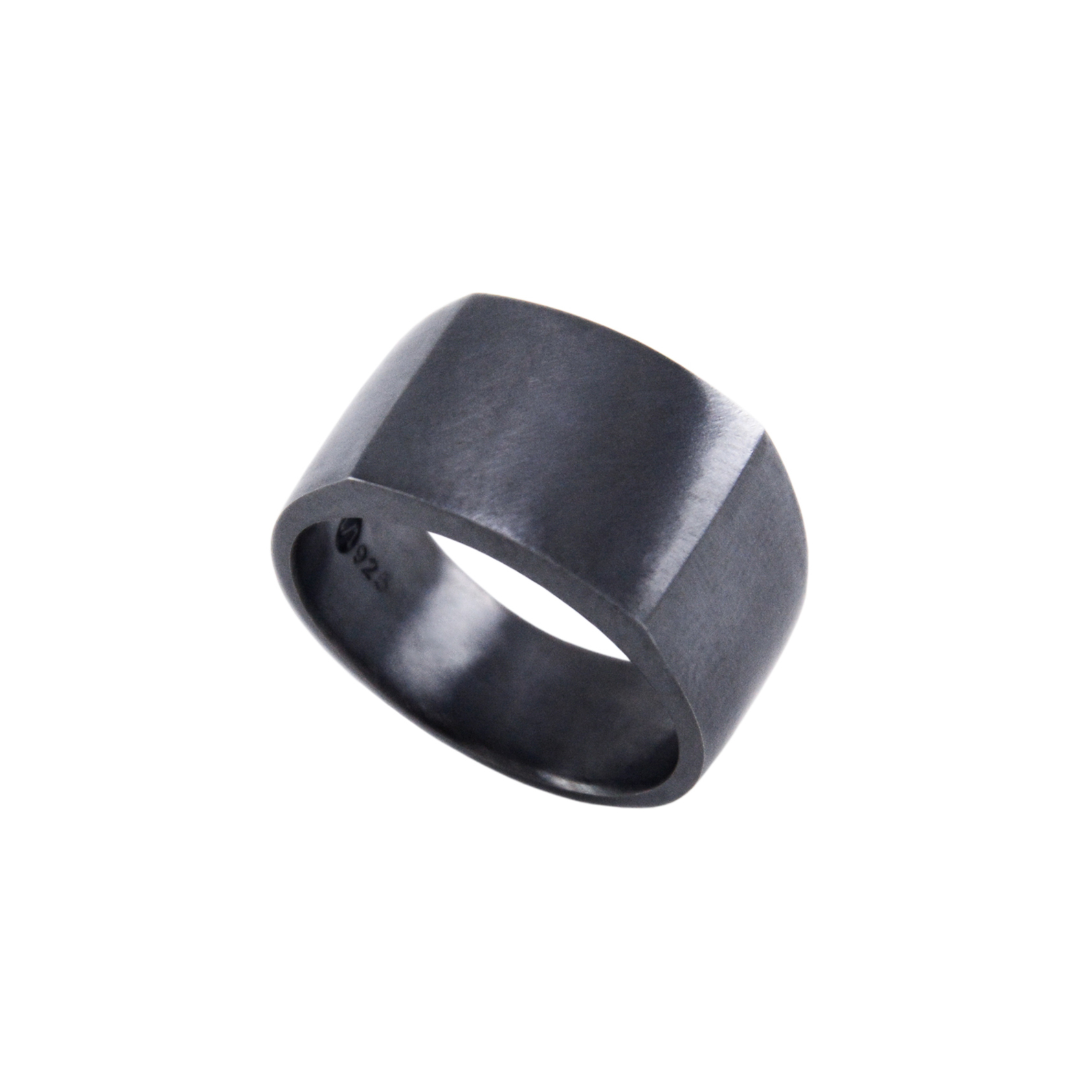 SIGNET RING II - BLACK