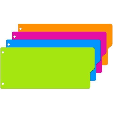 Разделитель листов Attache Selection пластиковый 12 листов разноцветный (105x240 мм)