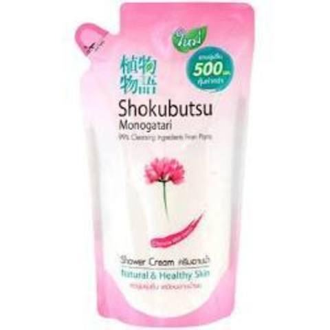 Крем-гель для душа  с молочными протеинами  150 мл 'Shokubutsu
