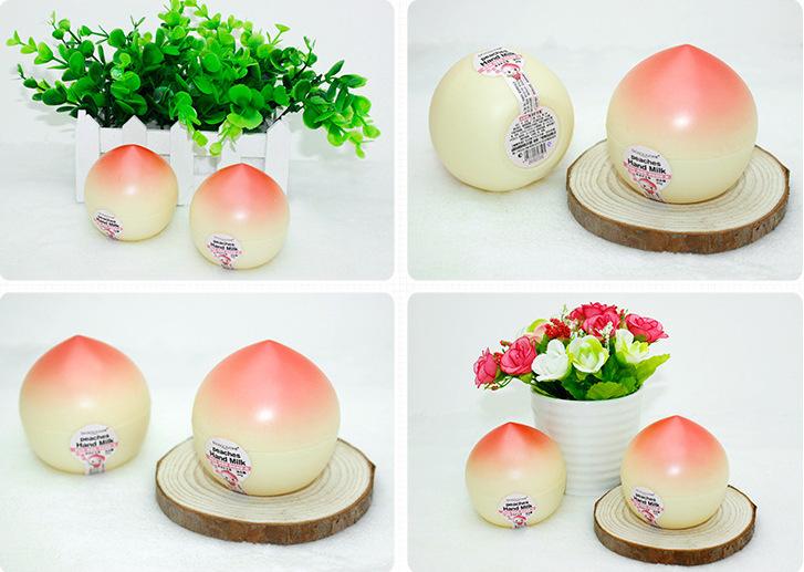 Увлажняющий крем для рук с ароматом персика, 30гр.