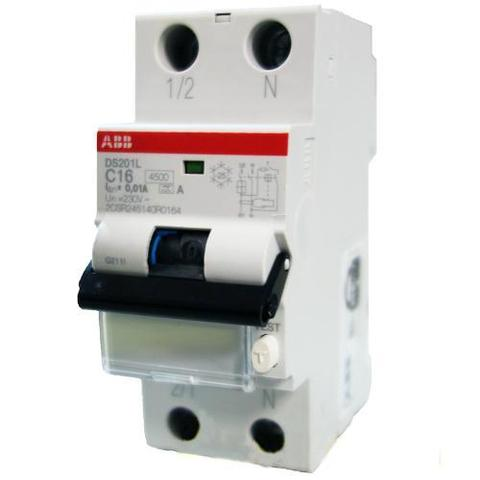 Выключатель авт.диф.т.DS201 L C10 A10