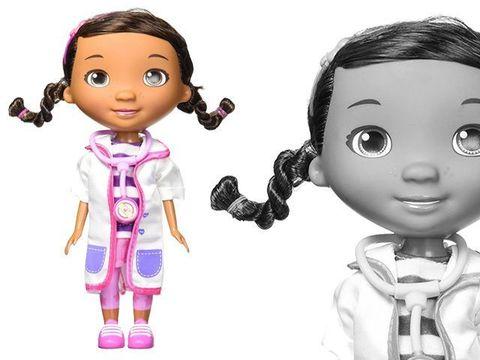Дотти с розовым чемоданом из серии Доктор Плюшева в Магии кукол