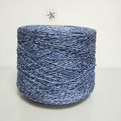Emilcotoni, Хлопок 100%, Синий с белым, 280 м в 100 г
