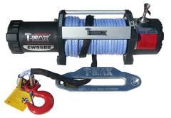 Лебедка T-max HEW-9500X Power (синтетический трос)