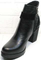 Ботиночки ботильоны Lady West 1343 101 Black