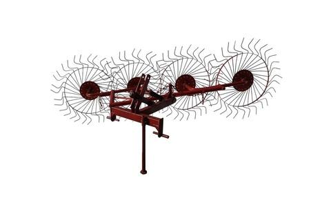 Грабли-ворошилки 4-х колесные однокрылые на минитрактор ВТ-4