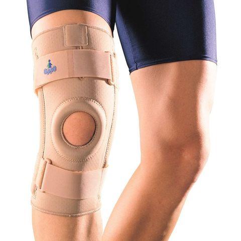 Ортез (бандаж) на коленный сустав с пружинными ребрами жесткости OPPO 1030 бежевый (США)