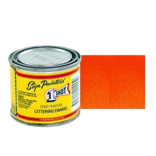 Пинстрайпинг (pinstriping) 900-P Эмаль для пинстрайпинга 1 Shot Перламутровый красно-оранжевый (Vermillion), 236 мл VermillionPerl.jpg
