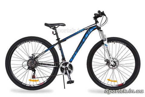 Гірський універсальний велосипед Formula Dragonfly DD 2018 - чорно-синьо-білий