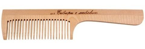 Расчёска с ручкой, частый зуб, 197мм
