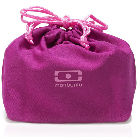 Мешочек для ланча Monbento Pochette color, малиновый